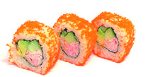 Foto California maki (avocado krabstick)