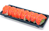 Foto Salmon cheese roll